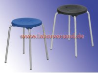 Stackable stools, stainless steel