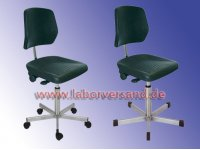 Lab chair, stainless steel