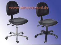 Working chair, leatherette seat