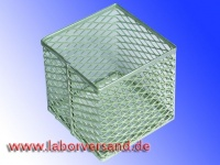 Lab basket made of aluminum