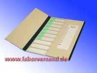Preparation folders with lid