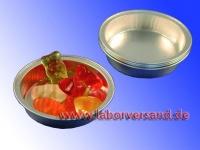 Sample pans made of aluminum