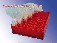 Kryoboxen PP, 45 - 50 mm hoch, Raster 9 x 9