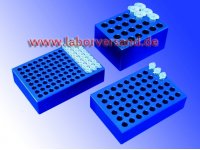 Tempering block for microtubes