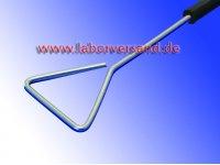 Drigalski spatula, stainless steel