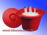 Eisbehälter, runde Form