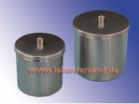 Containers made of stainless steel