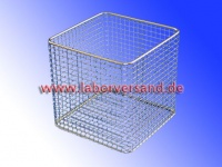 Lab baskets made of stainless steel