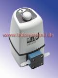 Membrane controlled liquid pump, KNF