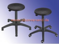 Lab stool with PU seat