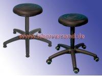 Lab stool with PU seat <b>SuperSoft</b>