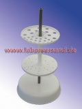 Pipette holder for glass pipettes