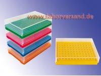 PCR-Arbeitsrack im Farbsortiment