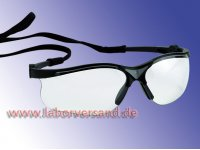 Laboratory spectacles with cord