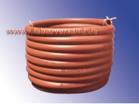 Gas hose for gas burners