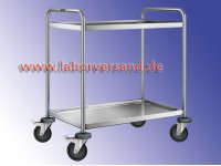 Lab Trolley, stainless steel