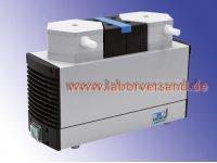 Membrane controlled vacuum pump, KNF chemical-resistant